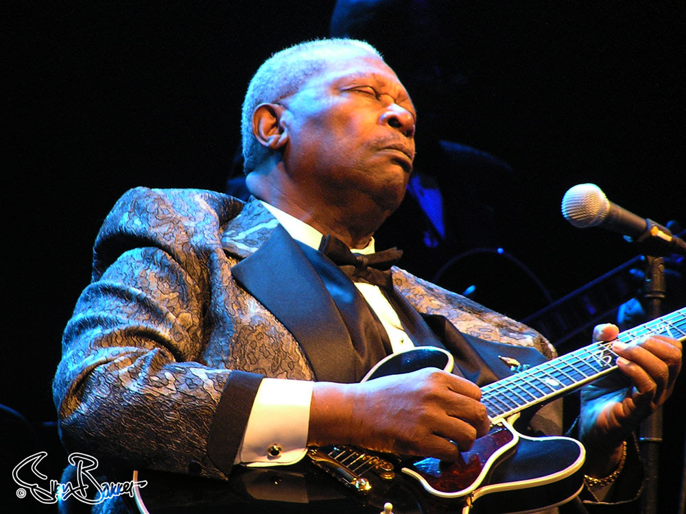 Blues legend BB King in Ahoy, Rotterdam (Sven Bakker)