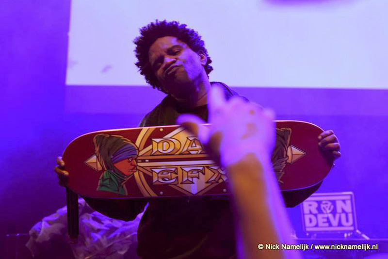 Das Efx skateboard hiphop tekening/kunst getoond door Crazy Drayz