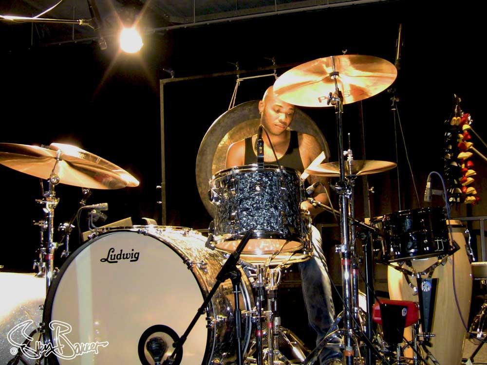 Franklin Vanderbilt @ Drumland, Lijnden (Sven Bakker)