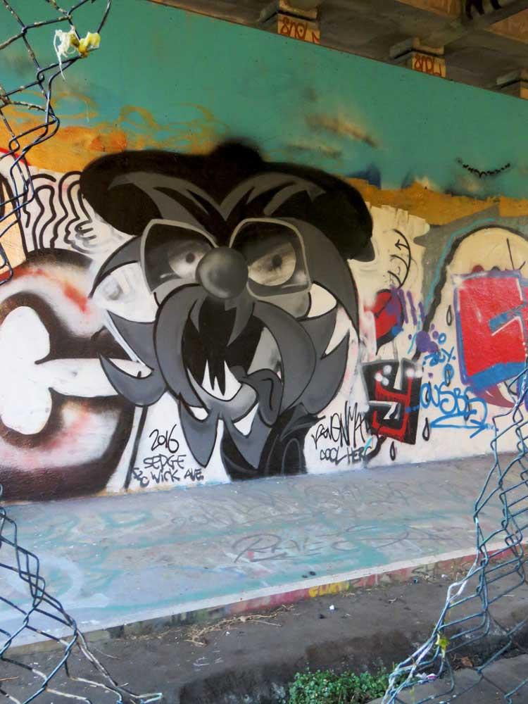 DJ Svenimal Kool Herc graffiti Amsterdam (Sven Bakker)