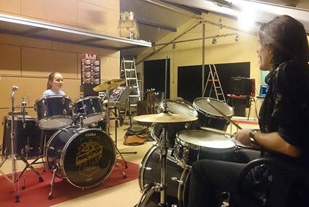 Drumles op Drumschool Sven Bakker