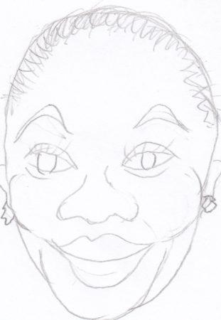 Roxanne Shante tekening
