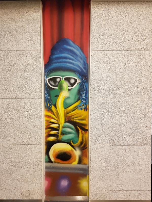 Zoot-Muppet-Graffiti-SvenBakker-Svenimal